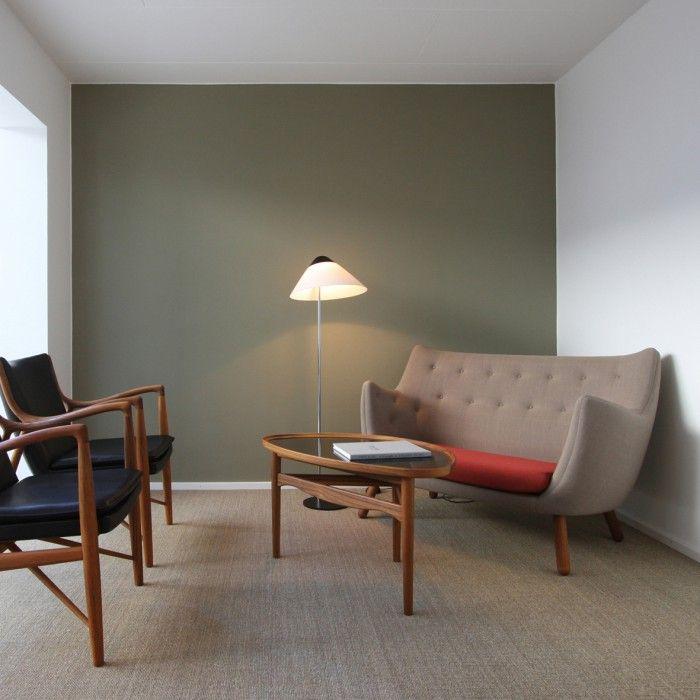 poet sofa sofa poeta finn juhl color crema diseno danes