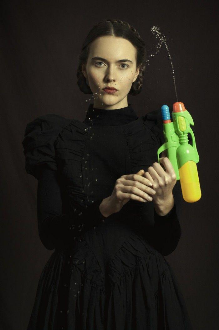 fotografia pistola de agua fotografa argentina romina ressia foto que parece un cuadro pictorica