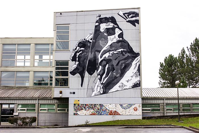 mural ino desordes creativas 2015 griego grecia street art galicia arte urbano