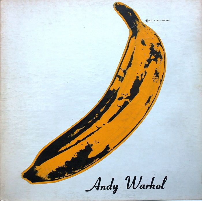 portada vinilo disco the velvet underground nico andy warhol platano amarillo piel portadas discos mas famosos