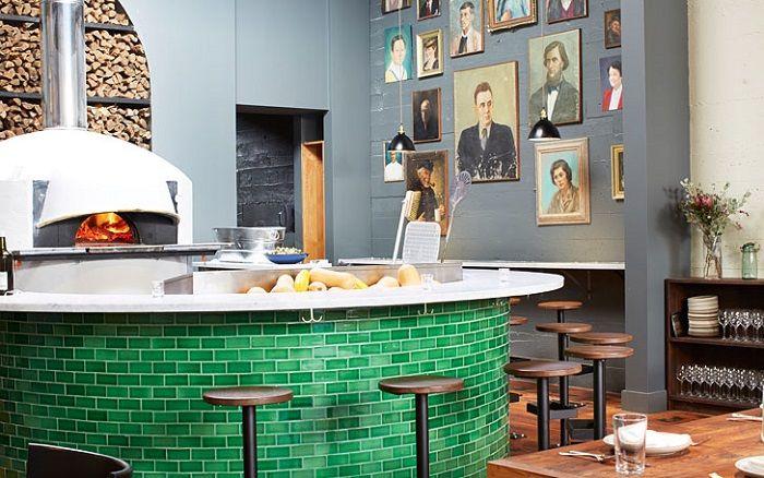 Restaurante «Del Popolo» , la nueva creación de Jessica Helgerson Diseño de interiores