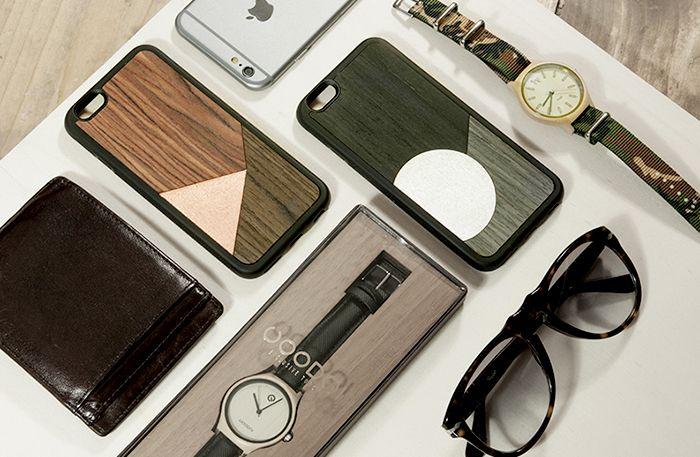 Diseño de accessorios para móviles: Descubrimos las carcasas de madera de WoodMi