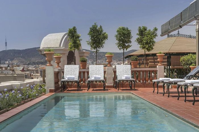 Selección de hoteles de lujo en Barcelona