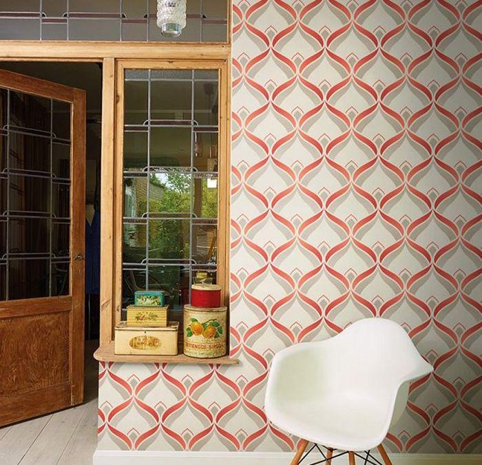 Papeles de pared retro para otoño en nuestro hogar