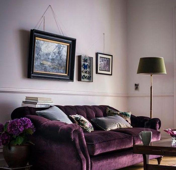 «Ultra Violet» color del año 2018 de Pantone: algunas aplicaciones para el hogar