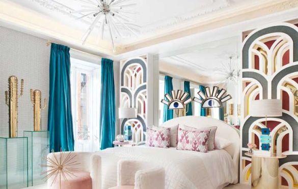 Dormitorio de Nuria Alía