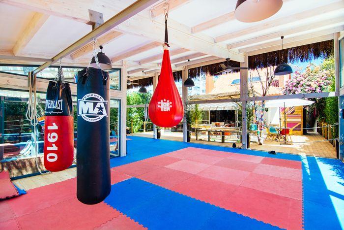 espacio de boxeo tailandes alojamiento portugal