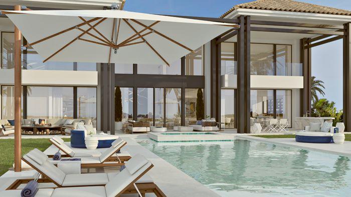 piscina vivienda lujosa en Marbella