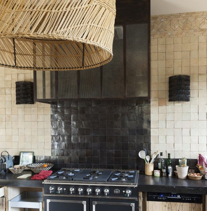 cocina en zellige