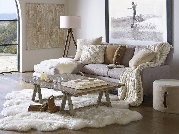 salon de estilo invernal