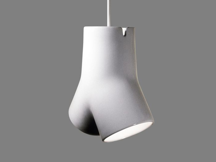 lampara diseño blanca