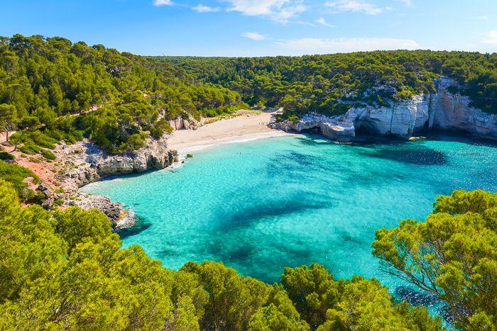 playa paradisiaca en baleares