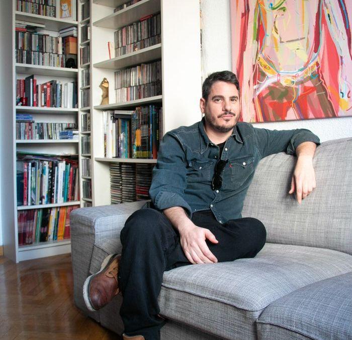 En casa del artista Santiago Esteban Glez