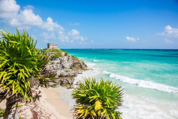 playa paradisiaca riviera maya mexico