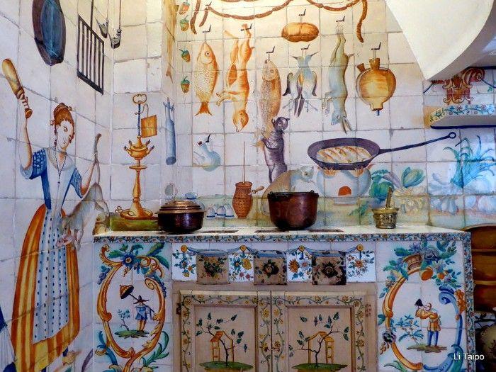 cocina ceramica de manises