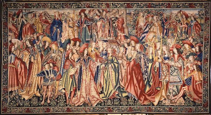 tapiz museo nacional de artes decorativas