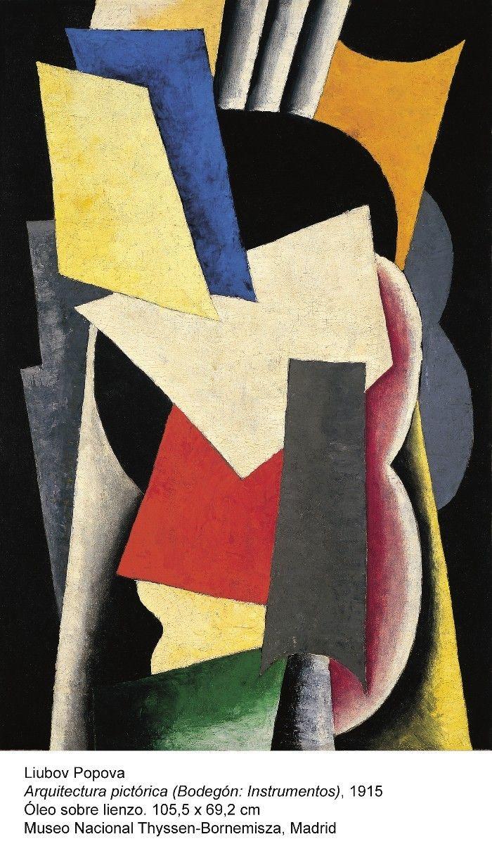 artista rusa vanguardia arte abstracto