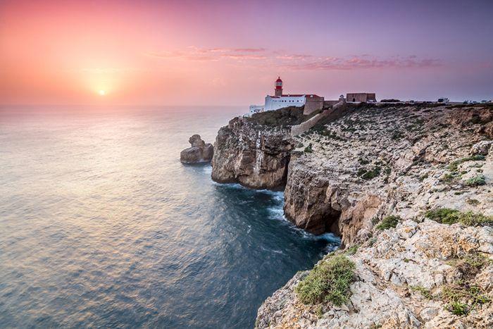 Faro san vicente acantilados espectaculares