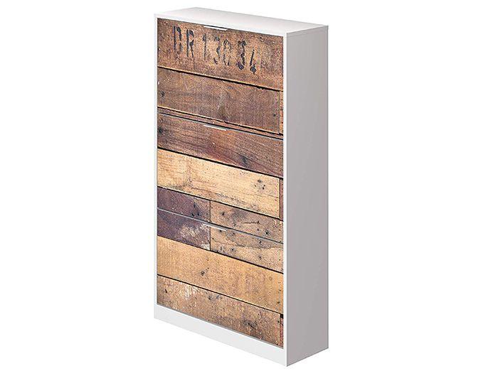 comoda madera virgen cobertura blanca