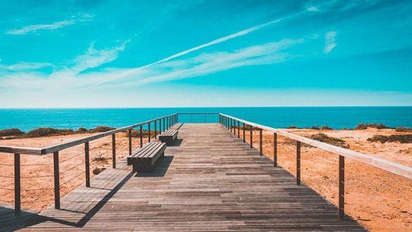 playa paradisiaca en el sur de Portugal