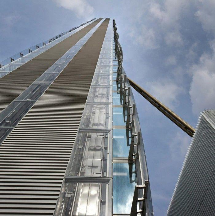 rascacielos arata isozaki