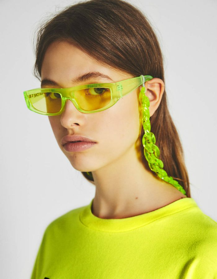 gafas chica mirada