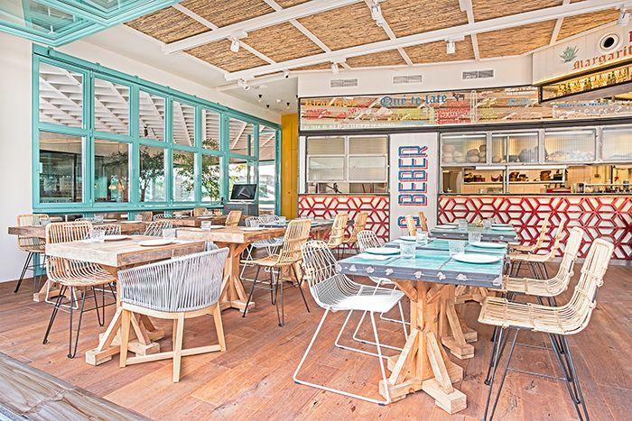 restaurante mexicano fibra vegetal acogedor