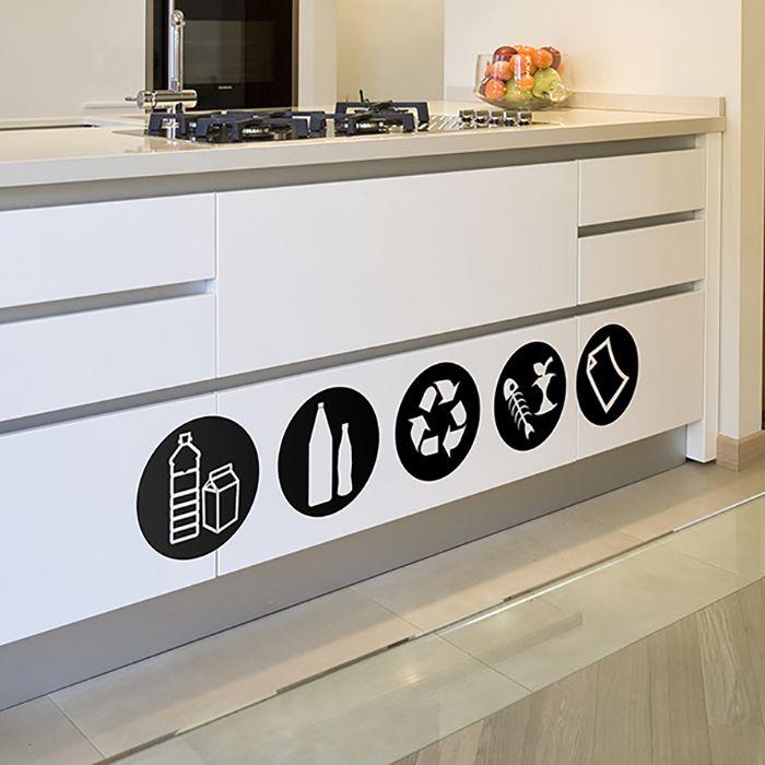 señales reciclaje cartel