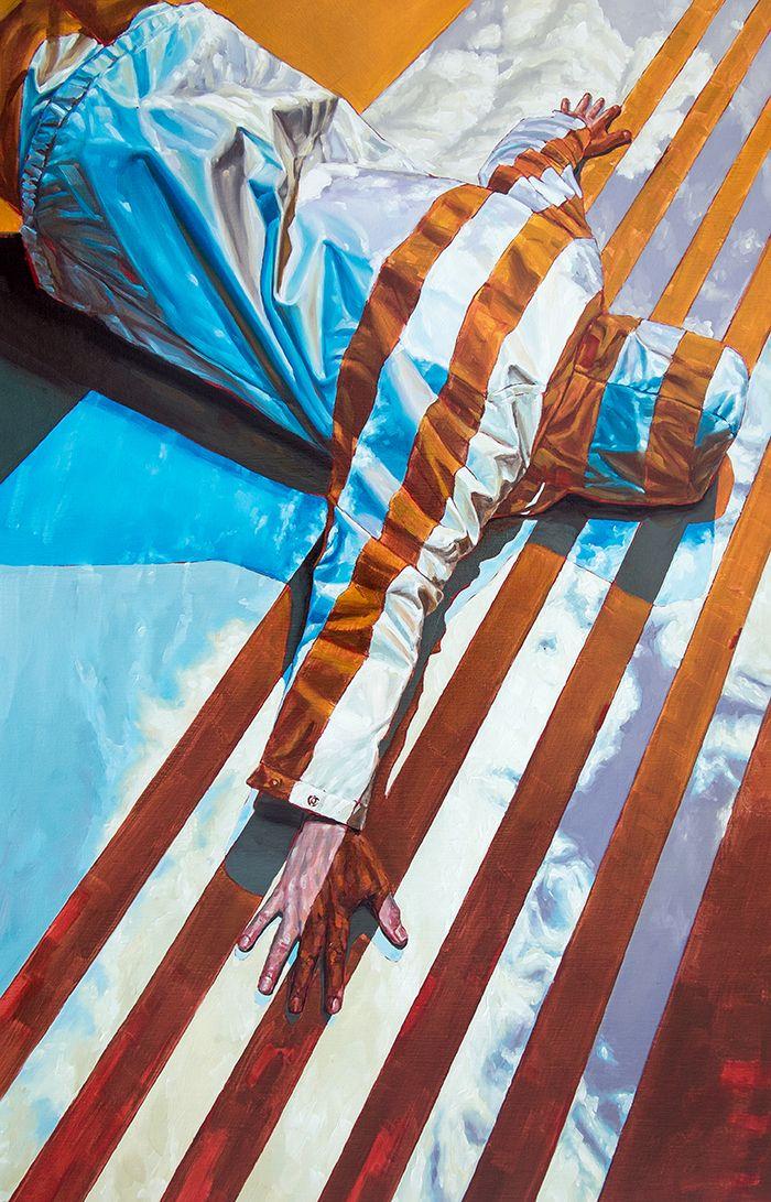 bandera estados unidos arte contemporaneo