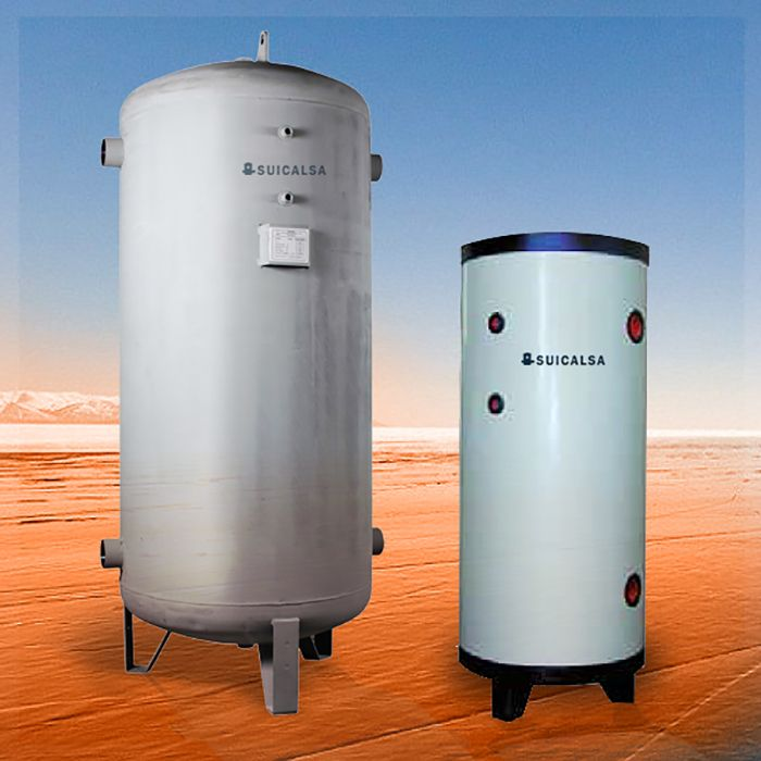 depositos agua caliente