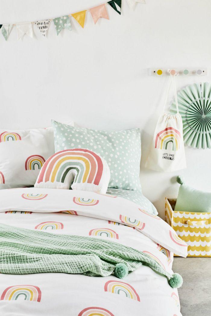 sabanas con arco iris