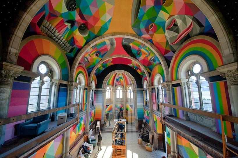 Cuando el interiorismo y el graffiti se unen