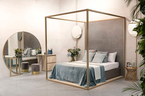 dormitorio cama dosel