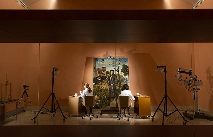 La restauración de un cuadro de Carpaccio se podrá seguir en directo en el Thyssen