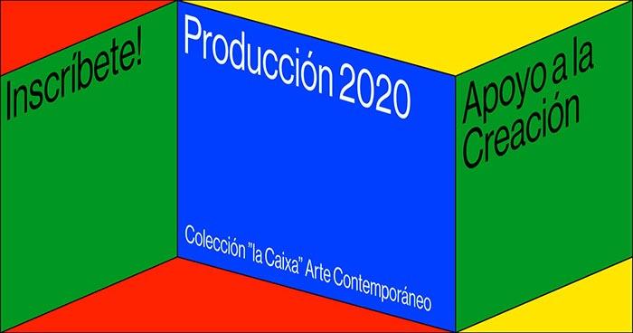 Convocatoria de Producción de La Caixa para creadores