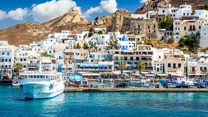 islas griegas puerto