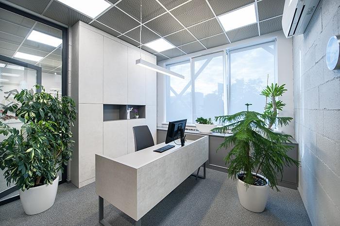 oficina iluminacion
