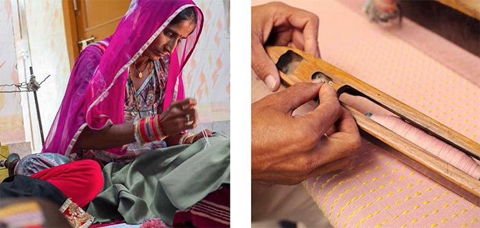 artesania india cojines terciopelo IKEA