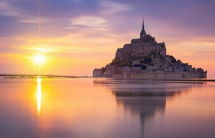 Mont-Saint-Michel mar