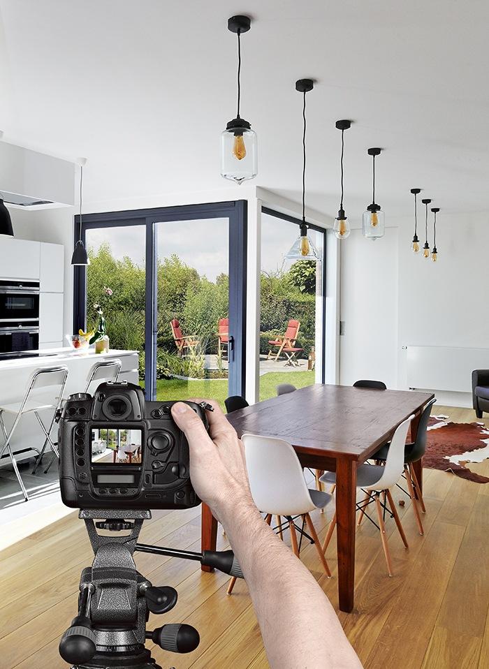fotografia de interiores camara