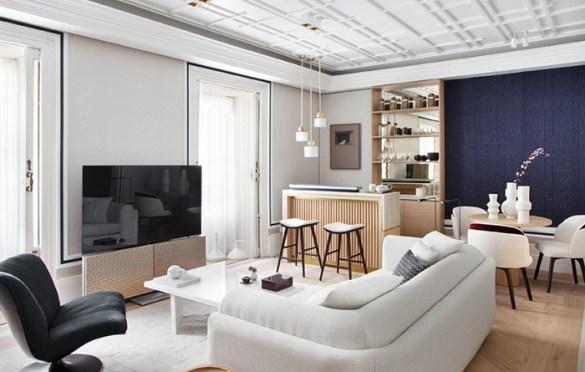 Salón-comedor-bar-Bang&Olufssen-Ele Room 62-Foto Nacho Uribesalazar