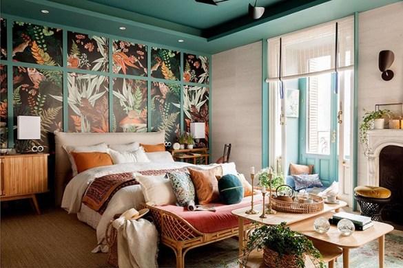 dormitorio maximalista monica garrido