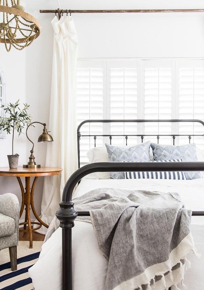 dormitorio verano cabecero forja