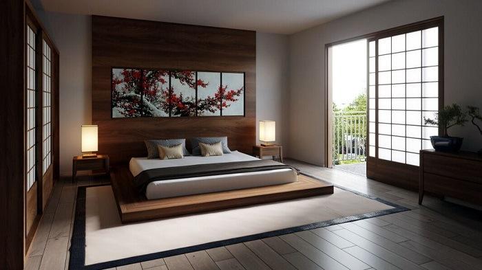 equilibrio dormitorio zen