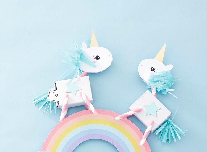 unicornios infantiles manualidades