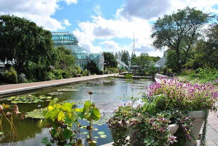 jardines botánicos en EEUU