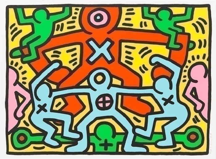 neopop Keith Haring