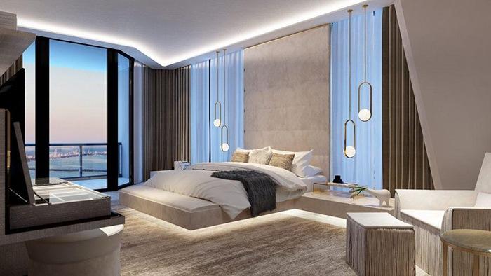 dormitorio lujo miami