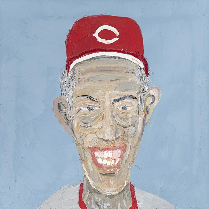 Sparky Anderson pintura baseball cincinnati