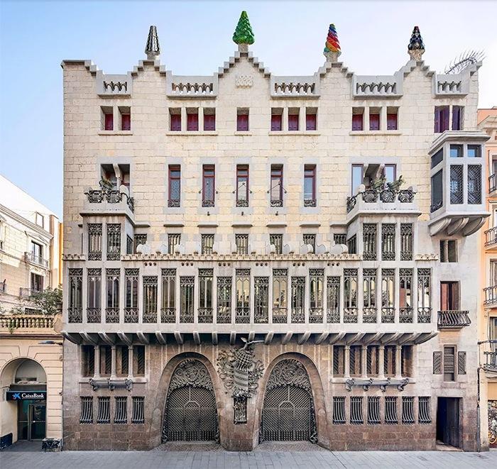 edificios modernistas barcelona